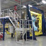 Réalisation d'un accès pour chaîne de montage Airbus A320 NEO