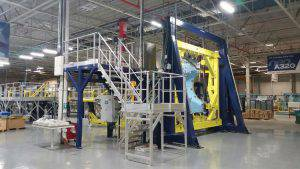 Achievement of an assembly line for Airbus A320 NEO access