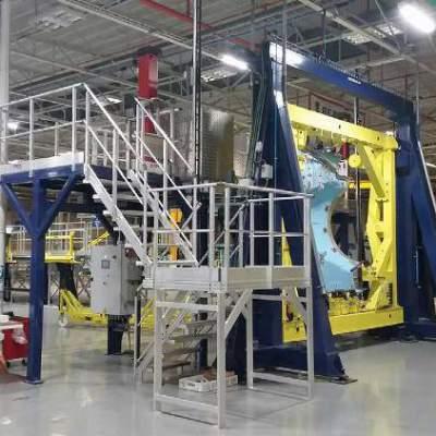 Accès chaîne de montage pour Airbus A320 NEO