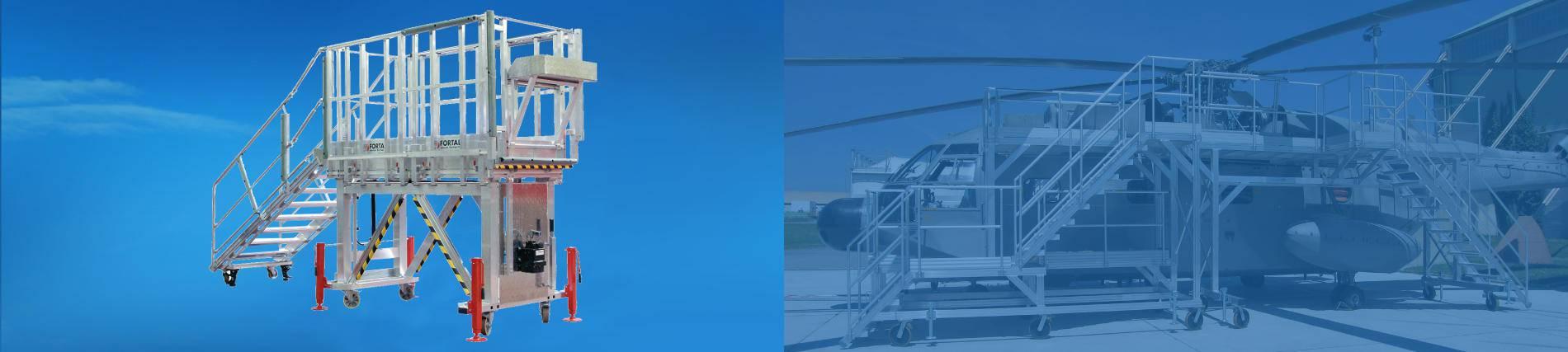Accès pour hélicoptère