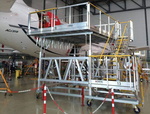 Accès porte pour avions (Airbus et Boeing)