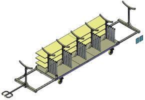 """""""Trim"""" storage trolley for Falcon"""