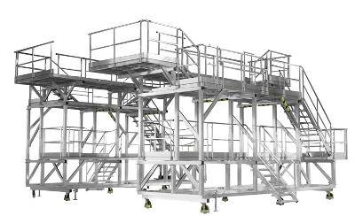 Falcon F7X tail dock access