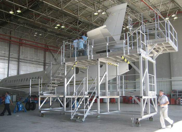 Dock d'accès dérive Falcon F7X