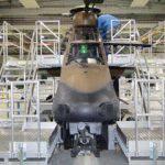 Dock de maintenance pour hélicoptère militaire Tigre