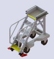 Stepladders for aircraft access