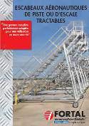 Brochure escabeau de piste ou d'escale tractable