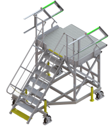 Hold access stepladder – Airbus A320-200