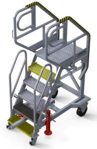 Technical-stepladder-for-A320-electrical-cargo-bay-access
