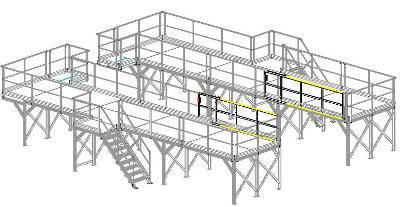 Bespoke aluminium aeronautical equipment
