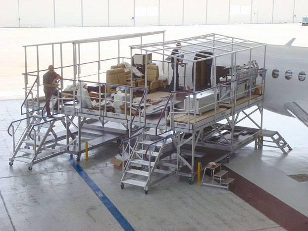 Loading dock Falcon VIP