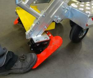 stepladder pedal A320 and B737