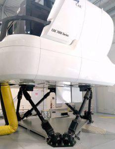 Plate-forme aluminium maintenance sur simulateur de vol