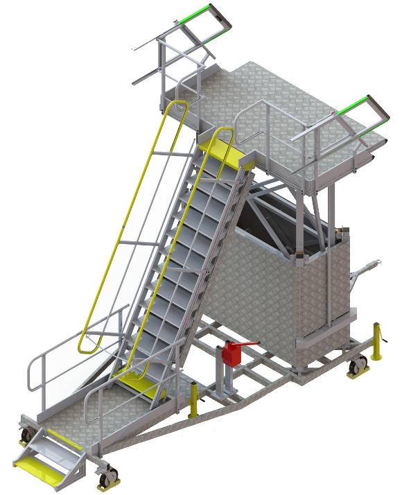 Hold access platform