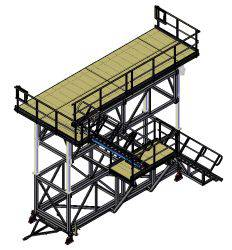 Fuselage access platform