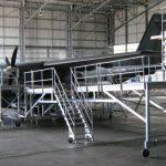 Plateforme de maintenance pour avion