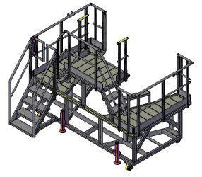 Nose access platform nh90
