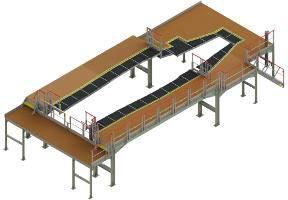Turnkey assembly platform for Rafale airframe
