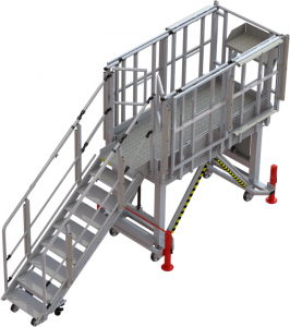 Multi purpose platform for helicopter Super Puma