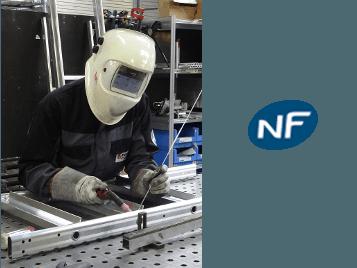 Soudeur aluminium habilité NF EN 287-2